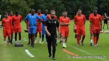 Football : le lourd travail physique du CS Sedan Ardennes en préparation - L'Ardennais