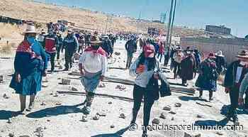 ▷ Cusco: alcaldes de Espinar levantan paro a la espera de reunirse con ministros este viernes | mdga | Sociedad - Noticias Peru - Noticias por el Mundo