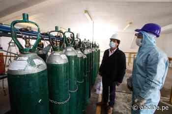 Covid-19: garantizan oxígeno medicinal para hospitales de Cusco y provincias - Agencia Andina