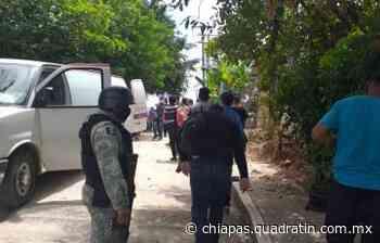 Continúa Fiscalía Operativo Antipandillas en el municipio de Palenque - Quadratín Chiapas