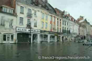 Aire-sur-la-Lys : la basse-ville en partie inondée après une pluie courte mais intense - France 3 Régions
