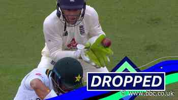 England v Pakistan: Jos Buttler drops Shan Masood on 45 - BBC News