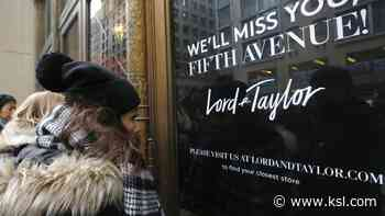 Lord & Taylor, owner of Men's Wearhouse and Jos. A. Bank, seeks bankruptcy - KSL.com