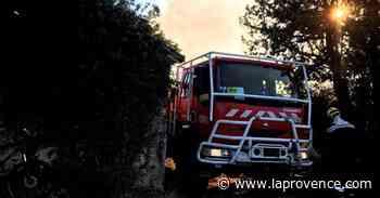 Manosque : un départ de feu rapidement maîtrisé par les pompiers - La Provence