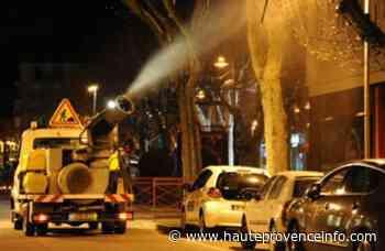 Manosque : Traitement des platanes dans le centre-ville et le tour de ville ce jeudi 30 juillet - Haute Provence Info - Haute-Provence Info