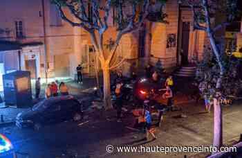 Manosque : Deux blessés dans un accident sur le boulevard Elemir Bourges - Haute Provence Info - Haute-Provence Info