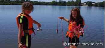Bain-de-Bretagne. Pêche à l'aimant : chasse au trésor et aux déchets dans le lac - maville.com