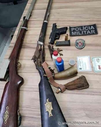 Polícia apreende três armas de fogo em Alagoa Grande - PBAGORA - A Paraíba o tempo todo