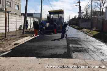 Tigre reanudó los trabajos de pavimentación en Almirante Brown de El Talar - elcomercioonline.com.ar