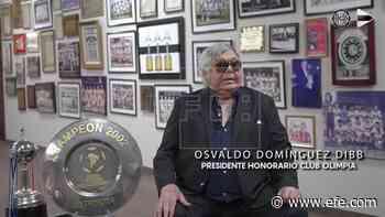 El 'Tigre' del fútbol paraguayo cumple 80 años con un libro de memorias - EFE - Noticias