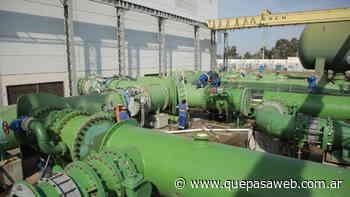AySA instaló dos válvulas en Tigre para expandir el servicio de agua en la región - Que Pasa Web
