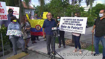 Caso Uribe: residentes colombianos en Florida rechazan las medidas contra el expresidente - CNN