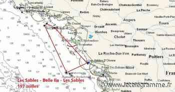 Voile. Les Sables Les Açores en baie de Morlaix (Mini) : la carto en direct - Le Télégramme