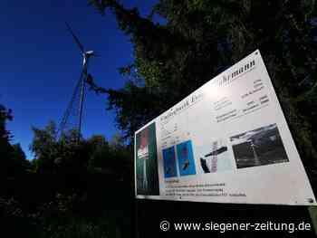 Ewiger Fuhrmann in Littfeld: Einstiges Rekordwindrad bald ausgefördert - Siegener Zeitung