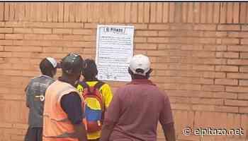 Infociudadanos en Apure instalan papelógrafo en el centro de San Fernando - El Pitazo