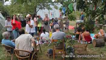 Roubaix: une chaude nuit d'été idéale pour un film en plein air au Jardin de Traverse - La Voix du Nord