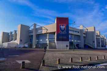 Caen et Vannes inoffensifs après 45 premières minutes de jeu - Foot National
