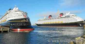 Paquebots : deux unités de Disney au port de commerce de Brest - Le Télégramme