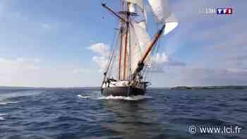 La goélette La Recouvrance propose des promenades en mer à Brest - LCI