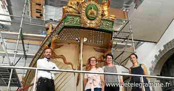 Brest - À Brest, le canot de l'Empereur bientôt prêt à accueillir le flot de visiteurs - Le Télégramme