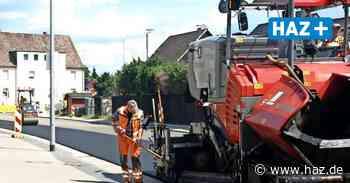 Bauarbeiten an der Theodor-Heuss-Straße sind kurz vor dem Abschluss - Hannoversche Allgemeine