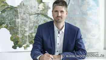 Matthias Wanninger ist neuer Leiter des Liegenschaftsamtes und Nachfolger von Gunther Schröder - Wochenblatt.de