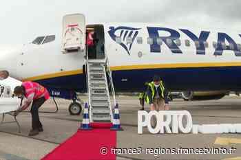 L'aéroport Grenoble-Alpes-Isère inaugure une liaison Grenoble-Porto... en pleine crise du transport aérien - France 3 Régions