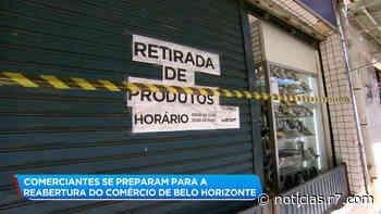 Comerciantes de Belo Horizonte se preparam para a reabertura - HORA 7