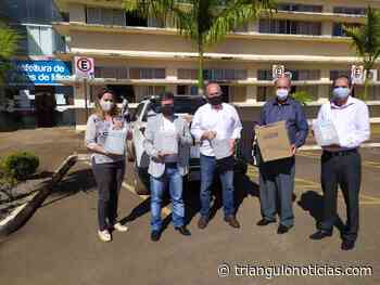 FIEMG doa alcool e máscaras para Prefeitura de Patos de Minas e Hospital Regional - Triângulo Notícias - TN