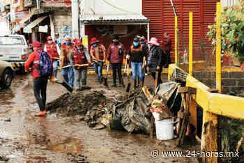 Tlalpan atiende daños en San Miguel Topilejo tras fuertes lluvias (+fotos) - 24 HORAS