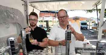Gastronomie in der Corona-Krise: Schausteller Edi Tusch betreibt jetzt Biergarten am Hohen Busch in Viersen - Westdeutsche Zeitung