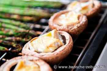 Fleischloses Grillen mit Resten – zum Beispiel Käse im Champignon - Gastronomie - Badische Zeitung