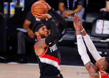 Bubble Blazers Stay The Course In Win Versus Rockets