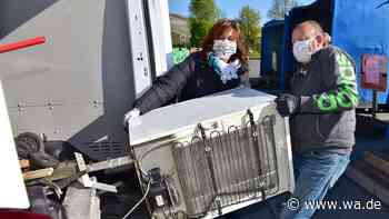 Lockdown wegen Corona produziert in Hamm und Kreis Warendorf mehr Müll - Nachgefragt beim ASH - wa.de