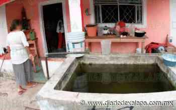 Poblado veracruzano lleva 2 semanas sin agua; llenar tinaco, a $250 - Diario de Xalapa