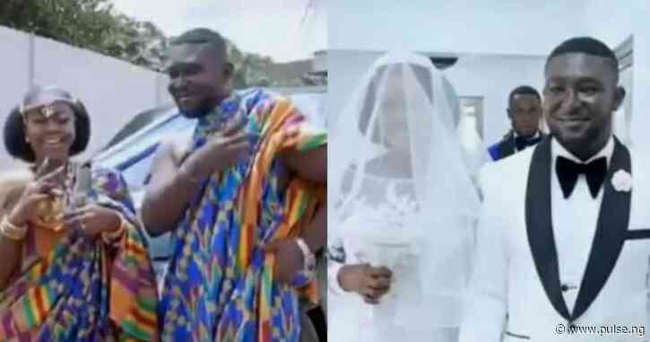 Video of beautiful deaf and dumb couple exchanging vows in sign language will make your day