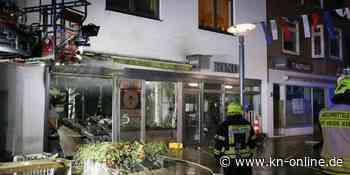 Explosion in Friseursalon in Heide