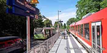 Bürgermeister von Neuruppin schlägt neuen Bahnhof vor - Märkische Allgemeine Zeitung