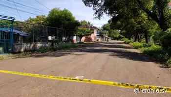 Asesinan a un hombre en Chirilagua - Diario Digital Cronio de El Salvador