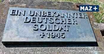 Unbekannte Weltkriegssoldaten aus Neustadt haben plötzlich wieder Namen - Märkische Allgemeine Zeitung