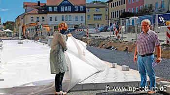 Neustadt: Das Pflaster ist fast fertig - Neue Presse Coburg