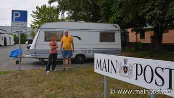 Auto-Panne: Camper stranden in Bad Neustadt auf dem Redaktionsparkplatz - Main-Post