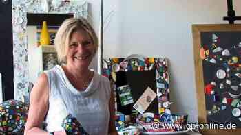 Groß-Zimmerner Künstlerin Ursula Burgdorf fertigt Werke aus Scherben - op-online.de