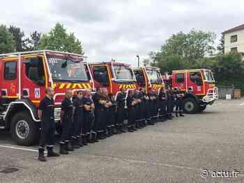 Après leur mission à Anglet, les pompiers du Gers luttent contre les incendies dans les Bouches-du-Rhône - actu.fr