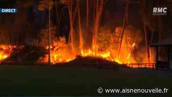 Feu de forêt à Anglet: 165 hectares détruits, des maisons endommagées - L'Aisne Nouvelle
