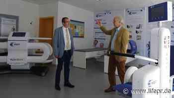 CDU Landtagsabgeordneter Frank Steinraths besucht in Wetzlar die Firma MedTec Medizintechnik GmbH - lifepr.de