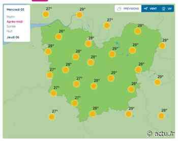 La météo de ce mercredi 5 août à Pont-Audemer - L'Eveil de Pont-Audemer