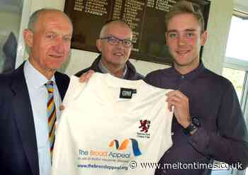 500-club member Broad continues to inspire at Egerton Park - Melton Times