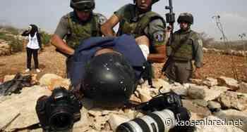 Palestina: 237 violaciones contra periodistas durante el primer semestre de este año, la mayoría cometidas por la ocupación israelí - kaosenlared.net