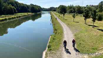 Neuer Kanalradweg soll Osnabrück mit Wallenhorst und Bramsche verbinden - Neue Osnabrücker Zeitung